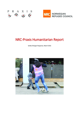 NRC-Praxis Humanitarian Report March16
